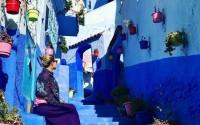 Ngẩn ngơ với thành phố màu xanh dương độc đáo - Chefchaouen nằm trên núi tại Ma-rốc