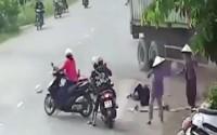 Tài xế xe container bị khởi tố vì tông chết bé gái