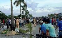 Thanh Hóa:Sau tiếng động lớn, người đàn ông tử vong bên bì than đổ tung tóe