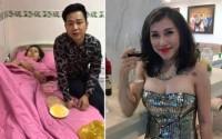 Ca sĩ Ivy Trần bị nổ túi ngực trên máy bay
