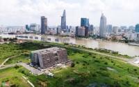Cận cảnh khu đất dự kiến xây nhà hát ngàn tỷ ở Thủ Thiêm