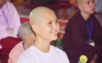 Người có mái tóc đẹp nhất Cuộc thi Hoa hậu Việt Nam 2014 xuất gia ở tuổi 24