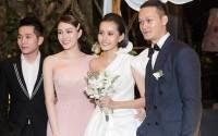 Hé lộ loạt ảnh đẹp trong đám cưới bí mật của Kim Chi (The Face)
