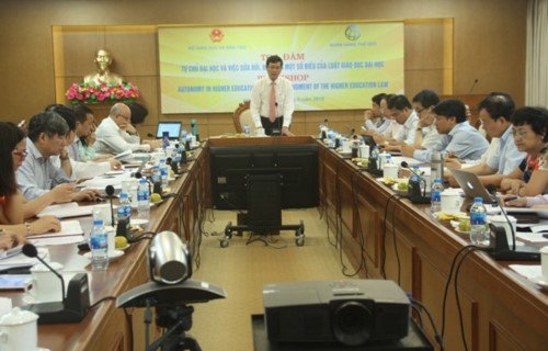 Chuyên gia thế giới góp ý dự thảo sửa đổi Luật Giáo dục đại học