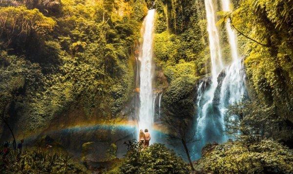 thác nước Sekumpul
