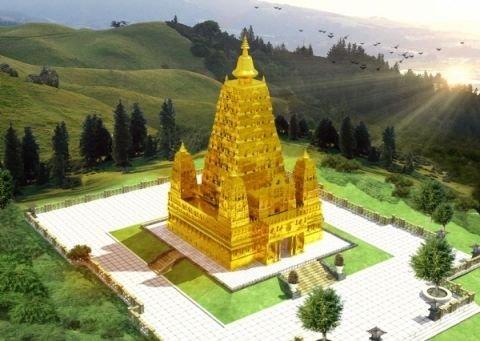 Cơ duyên với đại bảo tháp 300 tấn dát vàng, chàng trai trẻ xây biệt phủ gỗ 10 tỷ