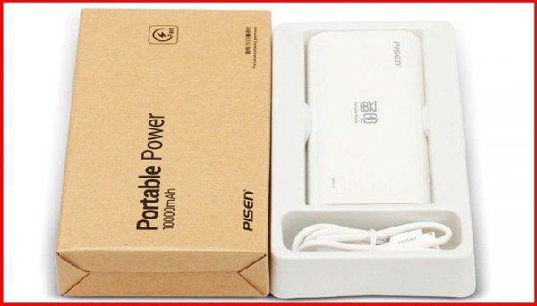 HOT: Pin dự phòng Pisen Portable Power 10.000mAh giảm 44% còn 280K