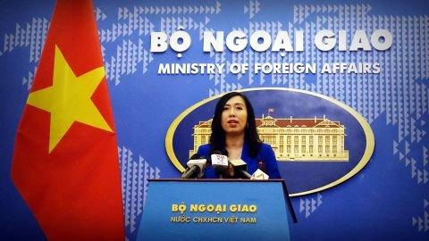 Phản ứng của Việt Nam về diễn biến trên đảo Thị Tứ thuộc quần đảo Trường Sa
