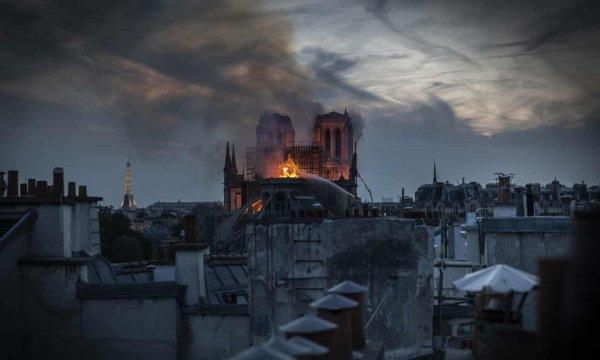 Cháy tại Nhà Thờ Đức Bà Paris – biểu tượng của Pháp