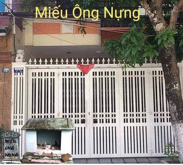 Dân mạng lập 'Miếu Ông Nựng' trước cửa nhà Cựu Viện phó VKS sàm sỡ bé gái trong thang máy