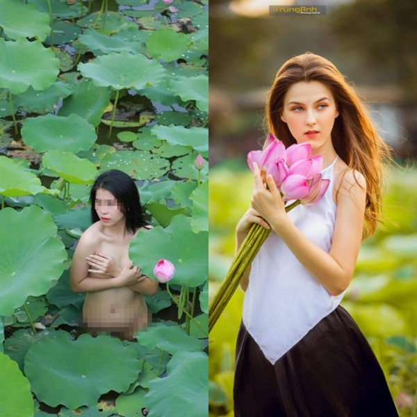 Cùng e ấp bên sen: Mẫu Việt nude phản cảm, mẫu Tây được khen nức nở